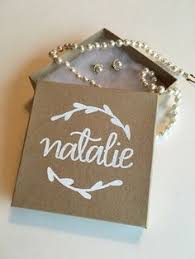 personalized jewelry gift boxes will you be my bridesmaid greeting card by lairdandbrie on etsy