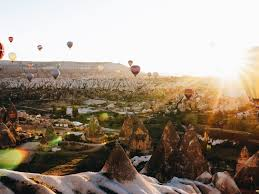the best photo locations in cappadocia black white vivid