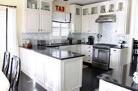 Kitchen Design With Black Appliances Kitchen Design White Cabinets Black Appliances Startling Kitchens