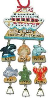 cruise ship ornaments