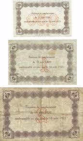 chambre de commerce du havre banknotes emergency notes le havre 76 ville et chambre de
