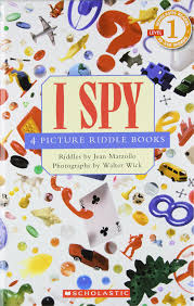 amazon com i spy 4 picture riddle books reader
