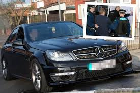 mercedes in manchester seize top of the range bmw and mercedes during raids in