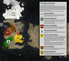 Essos Map 16 Game Of Thrones Maps Geography Is Coming Technabob