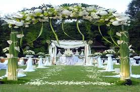 outdoor wedding reception decorations garden wedding reception