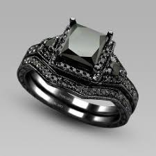 vancaro wedding rings vancaro princess cut black cubic zirconia black engagement ring