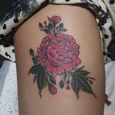25 best flower tattoos on thigh ideas on daisies - Tattoos On