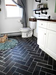 Bathroom Vinyl Floor Tiles Best 25 Vinyl Flooring Bathroom Ideas On Pinterest Vinyl Tile