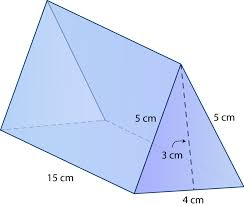 surface area of prisms read geometry ck 12 foundation