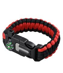 survival bracelet whistle buckle images 5 in 1 multi functional survival bracelet with compass whistle jpg
