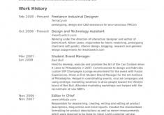 Industrial Design Resume First Class How To Create A Resume 10 Create A Free Resumes