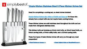 basic kitchen knives the 7 best kitchen knives