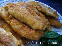 recette filets de poisson panés la cuisine familiale un plat