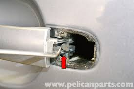Replace Exterior Door Handle Volkswagen Golf Gti Mk Iv Exterior Door Handle Lock Tumble And