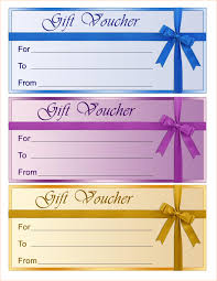 5 gift voucher template outline templates
