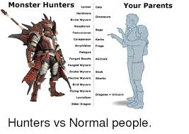 Monster Hunter Memes - monster hunters lynian cats your parents herbivore dinosaurs brute