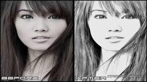 pencil photo editor adobe photoshop cs5 pencil sketch effect