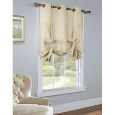 Tie Top Curtains Buy Tie Top Curtain Panels From Bed Bath Beyond