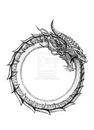 pinks dragon tattoo 2 ouroboros dragon ouroboros by devin rowell for tanner