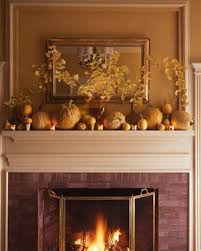 Fireplace Decorations Ideas Pumpkin Decoration In Collection Of Fireplace For Thanksgiving