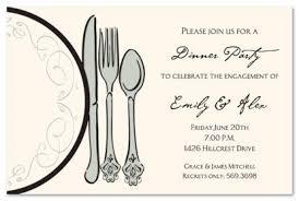 dinner invitation formal dinner invite cimvitation