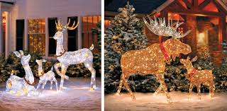 Outdoor Christmas Decor Reindeer by Winter Wonderland Outdoor Christmas Decoration Ideas