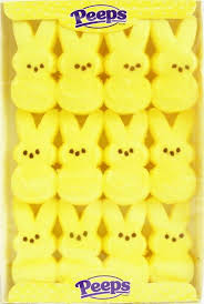 easter marshmallow candy just born peeps marshmallow easter bunnies yellow 12ct