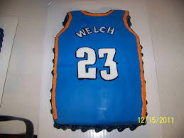 thunder jersey cakecentral com