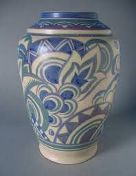 Poole Pottery Vase Patterns Poole Pottery Vase 1920s 30s Pottery Vase 1920s And Pottery