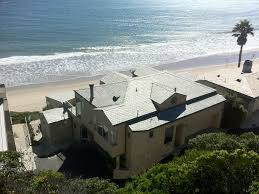 oceanfront malibu home great views homeaway western malibu