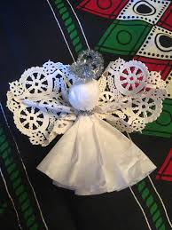how to make a quick and easy angel ornament mississippimom com