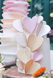 Heart Wedding Cake Heart Themed Wedding Cakes Brides