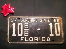 Florida Vanity Plate Cost Florida License Plate Ebay