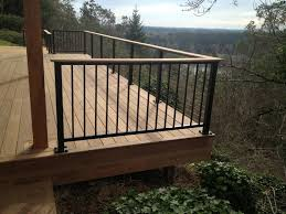 ironwood deck w alumarail pickets buildstrong construction