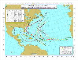 Hurricane Map Archives Spectacular Hurricane Movies And Images Past And Present