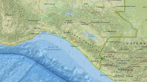 Mexico On Map by 6 4 Magnitude Earthquake Hits Near Tres Picos Mexico Abc7 Com