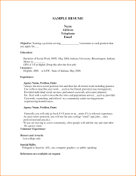 Investment Banking Resume Example by Social Work Resume Objective Free Resume Example And Writing