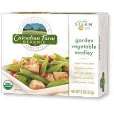 the watery gourmet product review cascadian farms frozen vegetables