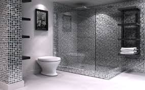 Black And White Bathroom Designs Amazing Black And White Bathroom Tile Ideas Bathroom Design