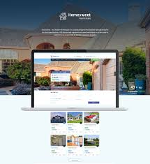 Free Joomla Real Estate Templates homesweet real estate psd template by creativelayers themeforest