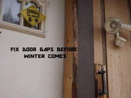 front door weather stripping has gaps no more youtube