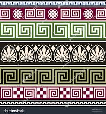 set antique borders ornaments stock vector 78904318