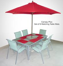 Replacement Canopy by 9ft Market Patio Umbrella Replacement Cover Canopy 8 Ribs Red W
