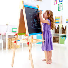 magnetic easel for toddlers magnetic all in 1 easel e1010 hape toys