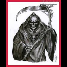 tattoos of the grim reaper and the world of tattoos grim