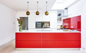 Red Kitchen Pics - real homes the magazine about transforming living spaces