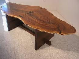 Wood Slab End Table by Custom Wood Slab Coffee Tables Dumond U0027s Custom Furniture