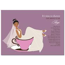 bridal shower invitation unique american bridal shower invitations teacup by