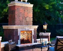 Outdoor Patio Fireplaces Fireplaces Fire Pits And Bake Ovens Stone Center Of Indiana