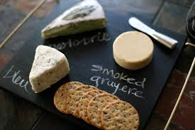 diy chalkboard cheese platter the middle of here